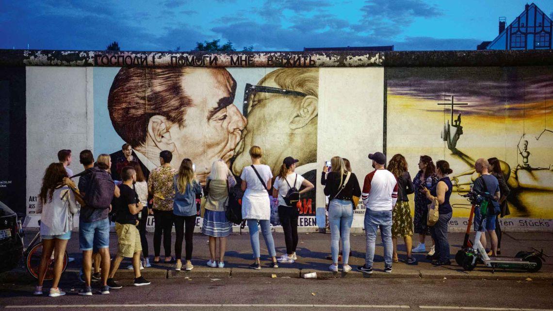 Muro de Berlín   Foto:cedoc