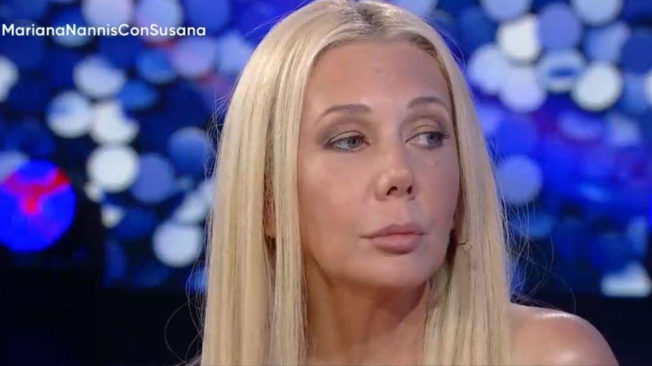 Mariana Nannis en el programa de Susana Giménez | Foto:cedoc