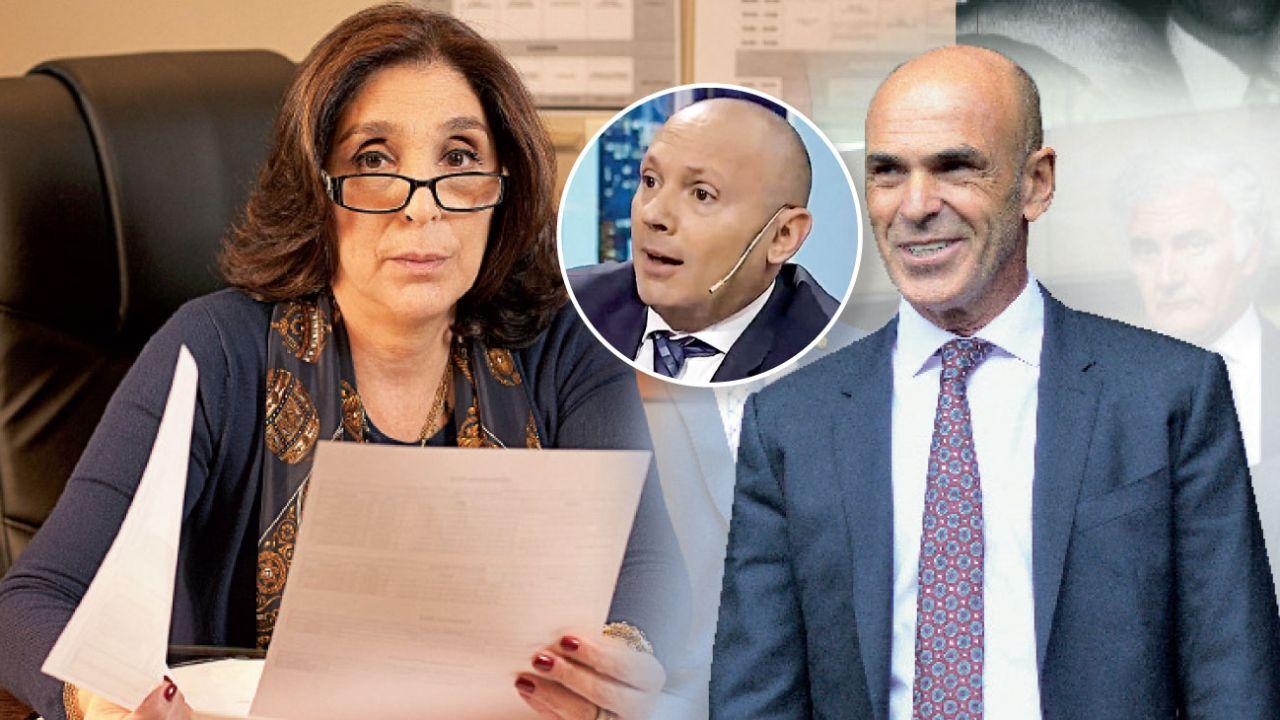 Silvia Majdalani, Marcelo D'Alessio y Gustavo Arribas | Foto:Juan Ferrari, Marcelo Silvestro, Gentileza Presidencia de la Nación y Cedoc.