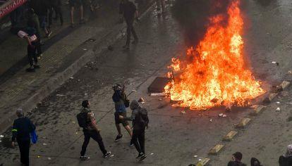 Chile en llamas. Agitadas protestas y movilizaciones.