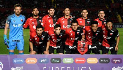 Colón de Santa Fe juega la final de la Copa Sudamericana.