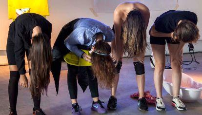 Las Guerras Púdicas. Instalación performática de Lorena Croceri.