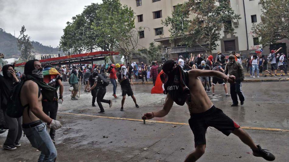 disturbios chile 08112019