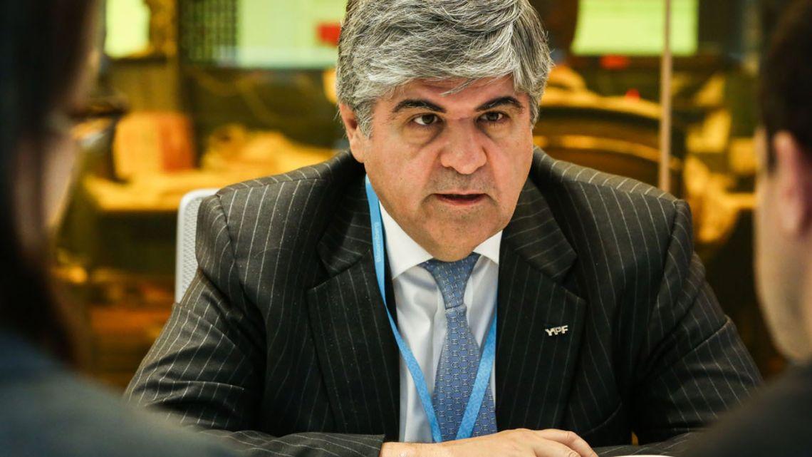 YPF Chairman Miguel Ángel Gutiérrez.