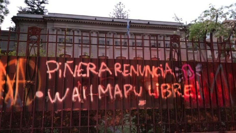 Embajada de Argentina en Chile.
