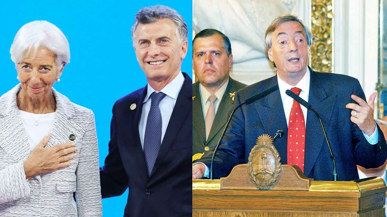 Historia. Con Mauricio Macri el país retomó un vínculo con el Fondo Monetario Internacional, que Néstor Kirchner decidió romper en 2006 al pagarle toda la deuda.