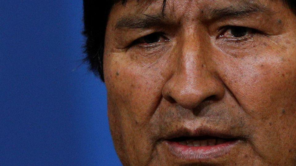 Evo Morales, ex presidente de Bolivia.