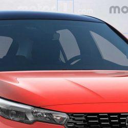 Así podría ser el nuevo Fiat Punto (Fuente: Motor 1)