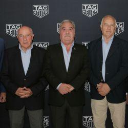 Bruno Duchene Oscar Fangio Antonio Mandiola Rubén Fangio y Aquiles Yavícoli
