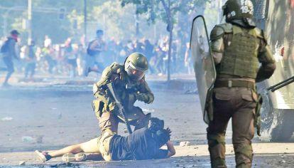 Violencia. Las protestas en Chile no tienen hoy una conducción orgánica. La derecha chilena le pide a Piñera más represión.
