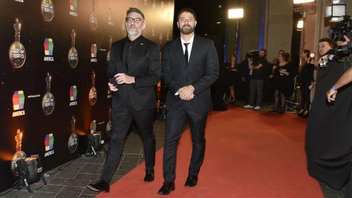 ¡Enamorado! Braulio Bauab felicitó a Luis Novaresio por haber ganado otro Martín Fierro