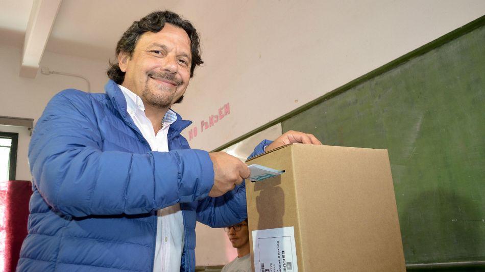 Gustavo Sáenz, nuevo gobernador electo.