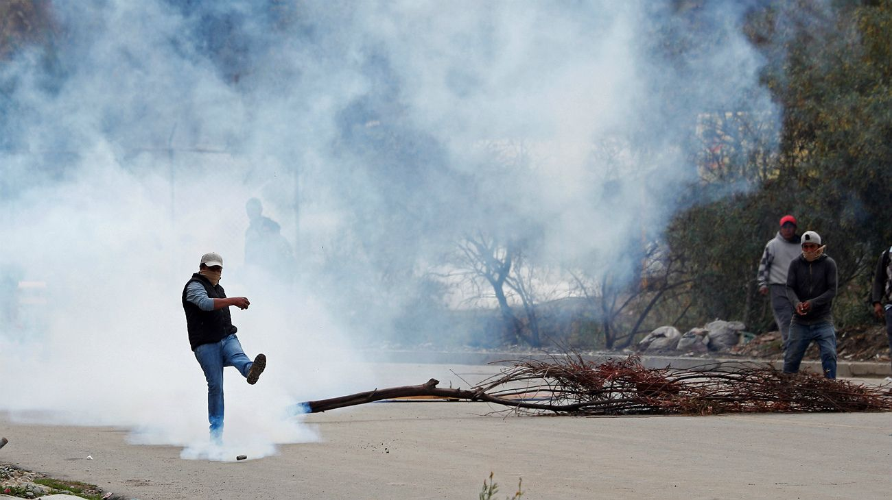 """Cancillería pidió """"extrema precaución"""" a los argentinos en Bolivia"""