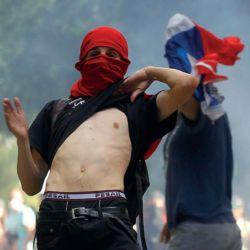 CHILE. Uno de los peores escenarios de violencia de los últimos tiempos. Un estallido inesperado.   Foto:Foto: Dragomir Yankovic / Aton Chile / Focouy.