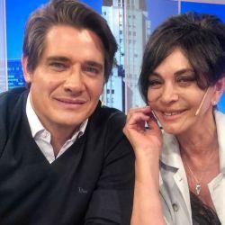 Guillermo Andino y Mónica Gutiérrez