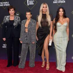 Kris Jenner, Kourtney Kardashian, Khloé Kardashian y Kim Kardashian