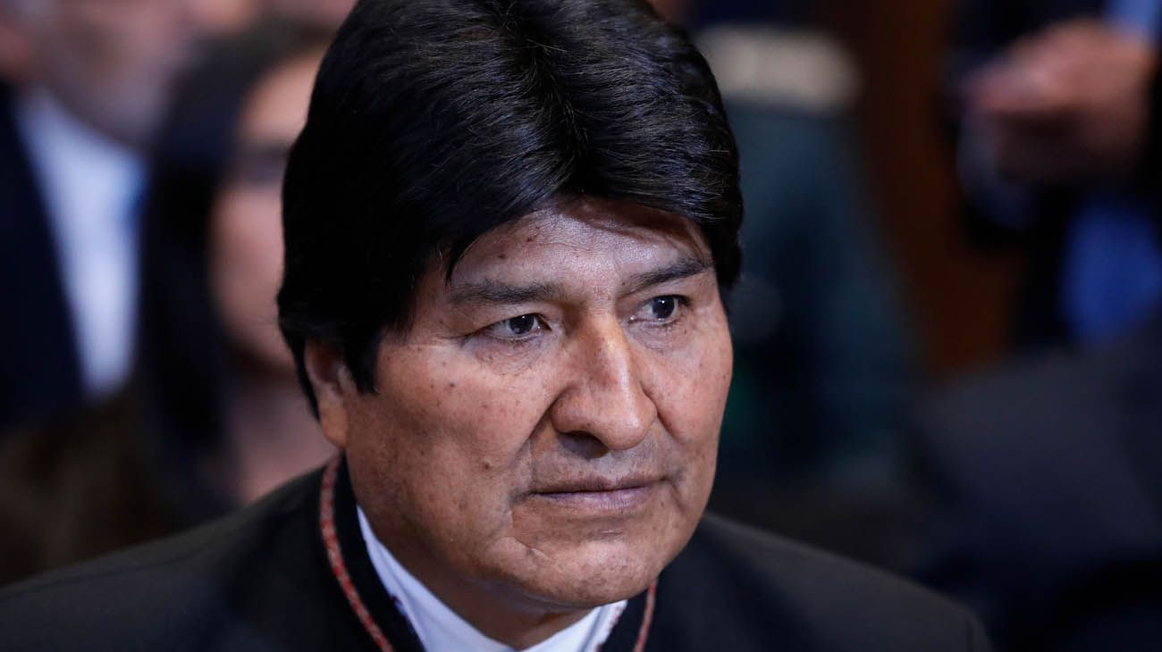"""En Bolivia quieren a Evo Morales preso por """"sedición y terrorismo"""""""