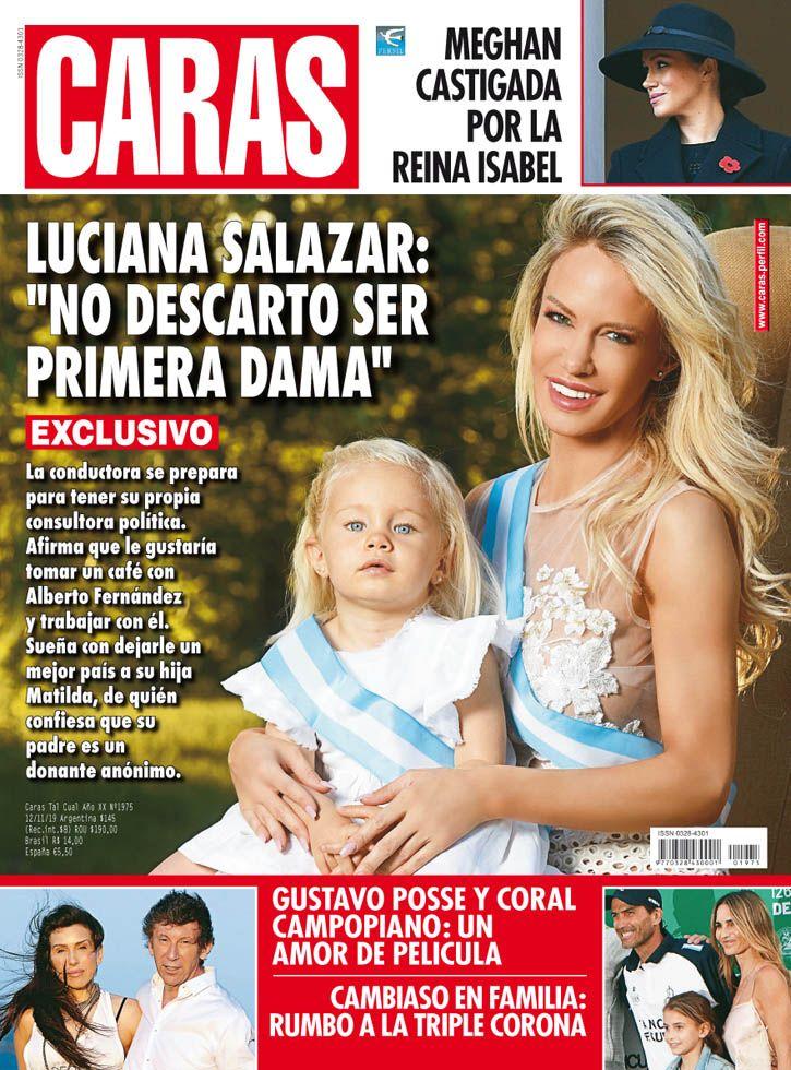 """Luciana Salazar: """"No descarto ser la primera dama"""""""