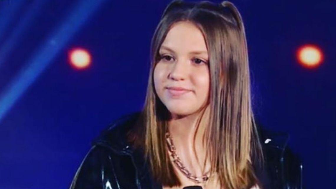 La hija de Karina y El Polaco debutó en el programa de Susana