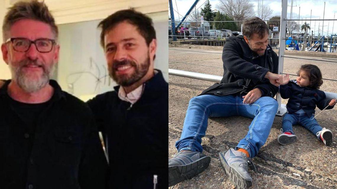 Luis Novaresio habló de su relación con la hija de su novio, Braulio Bauab