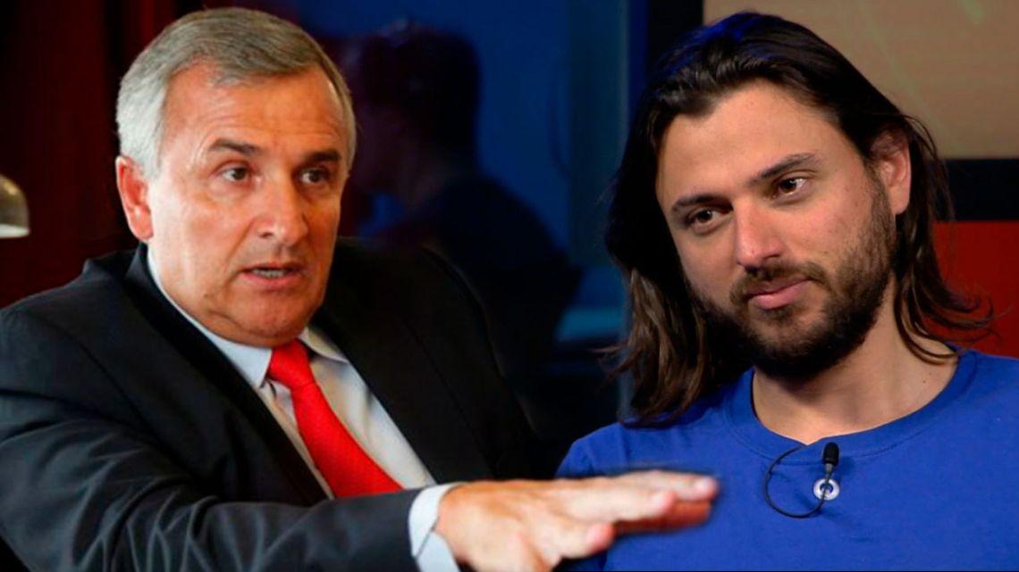 Gerardo Morales y Juan Grabois | Foto:cedoc