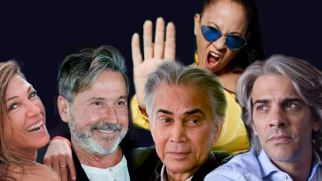Fulop, Montaner, Rodríguez, Miss Bolivia y Echarri | Foto:cedoc