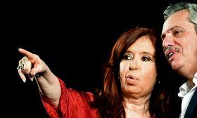 Cristina Fernández de Kirchner Alberto Fernández Stock