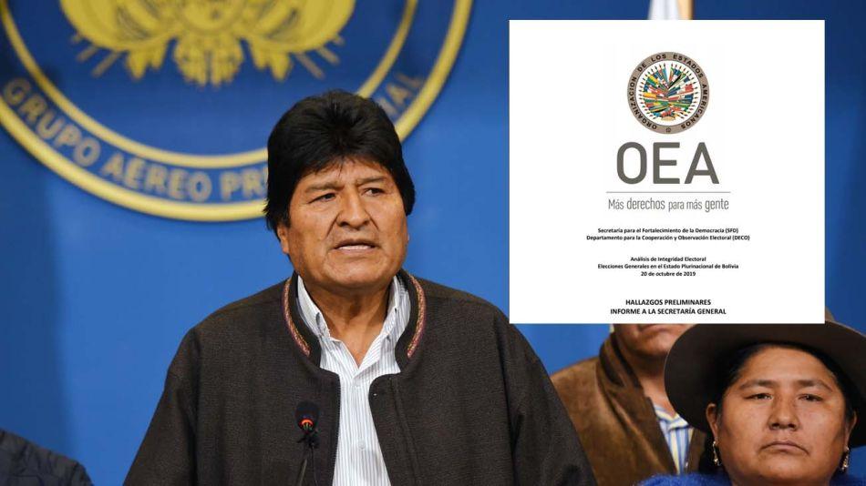 Evo Morales y el informe de la OEA
