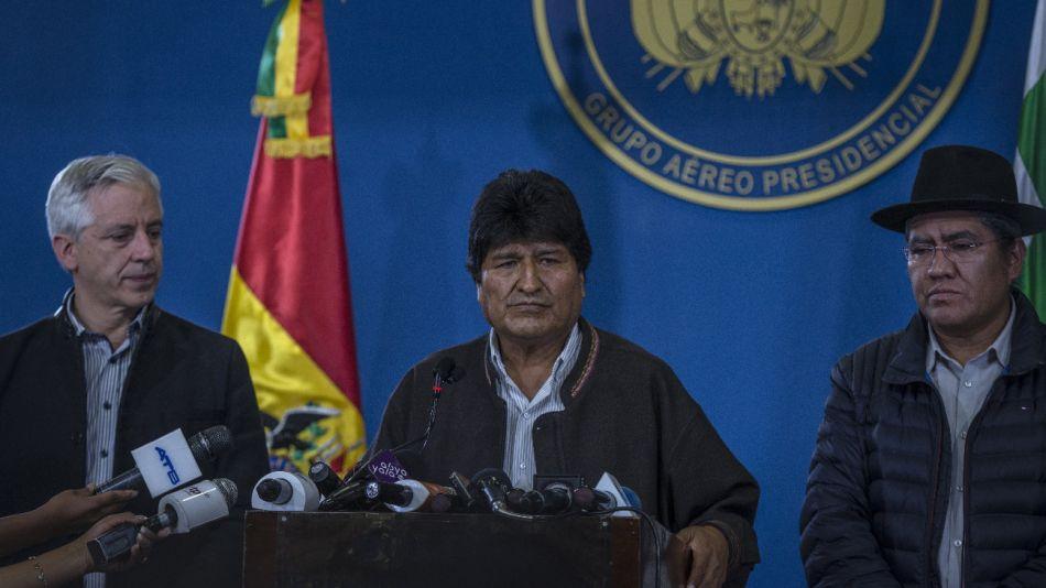 México le concedió asilo político a Evo Morales.