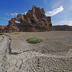 En la Navidad de 1833, el naturalista inglés Charles Darwin supo acampar en la desolada ría de Puerto Deseado.