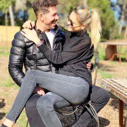 """La escapada romántica y en familia de Diego """"Cholo"""" Simeone y Carla Pereyra"""
