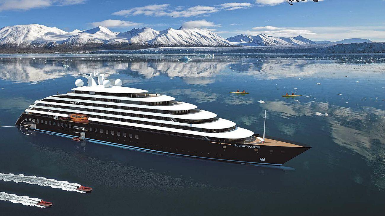 El hielo se convierte en la principal atracción de los cruceros
