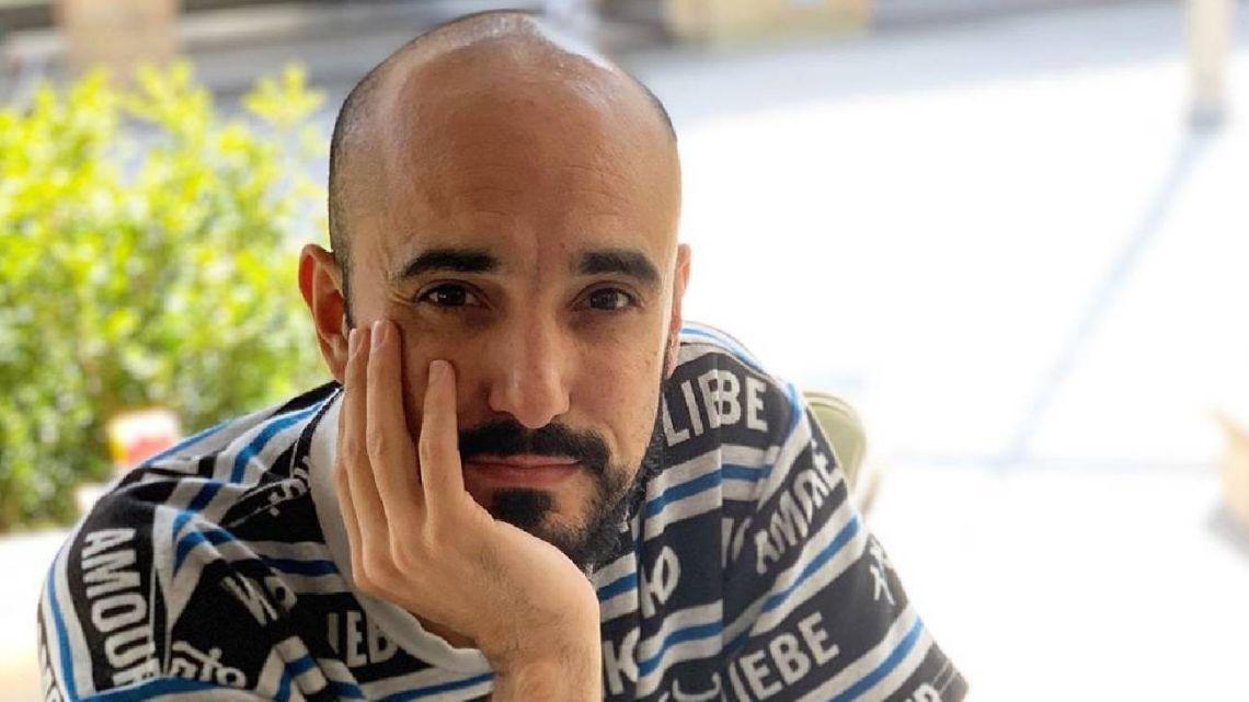 Abel Pintos confesó que está terminando el secundario