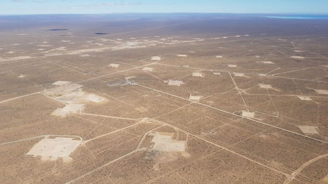 An overhead view of Argentina's shale potential