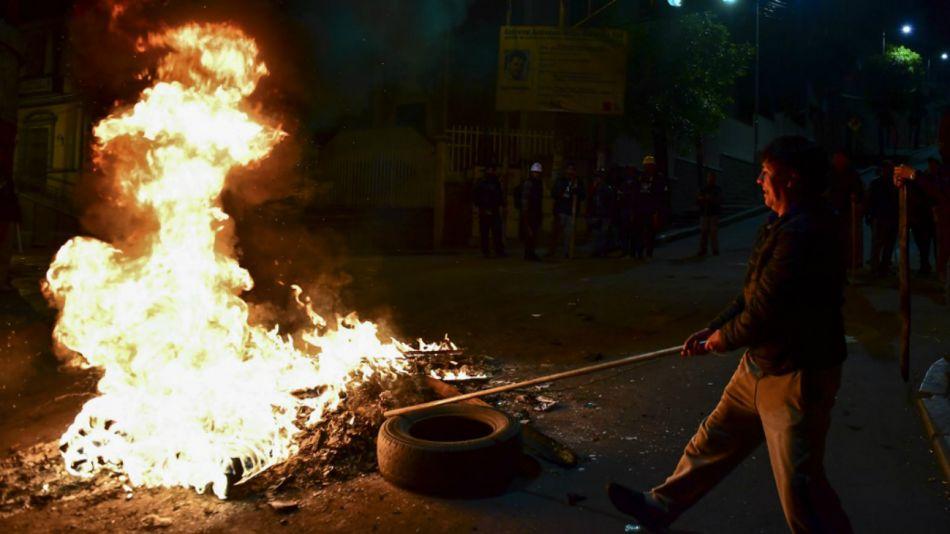 Bolivia en crisis