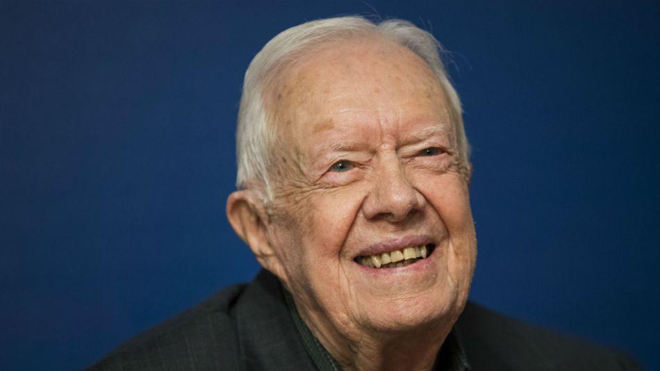 Carter, de 95 años, fue presidente de los EE.UU. entre 1977 y 1981.