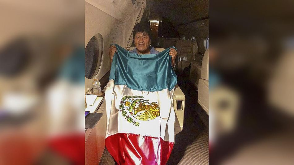 Evo Morales vuelaa México_g 20191112