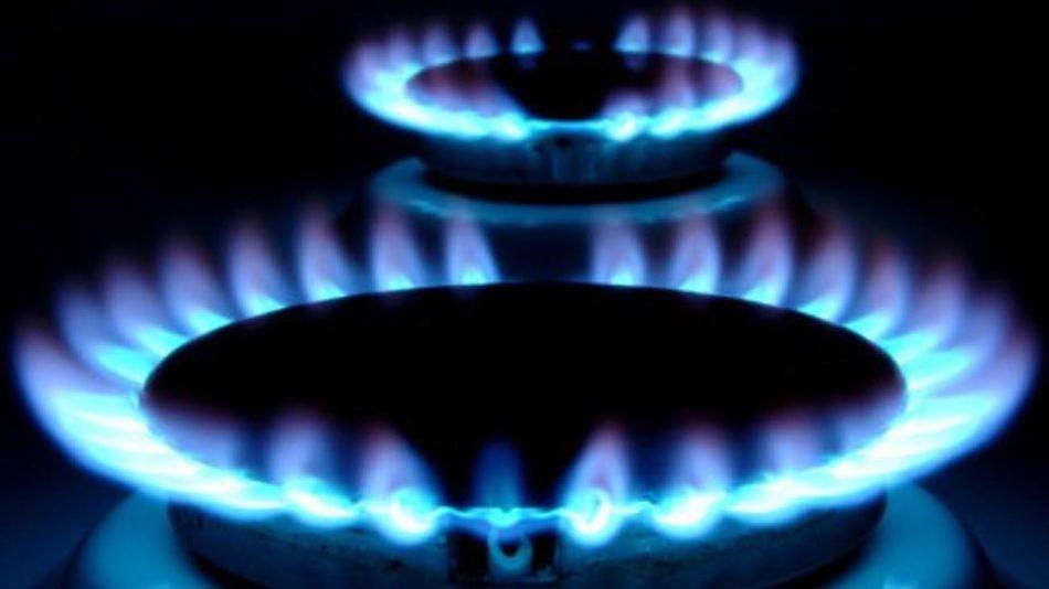 Hornallas con gas encendido