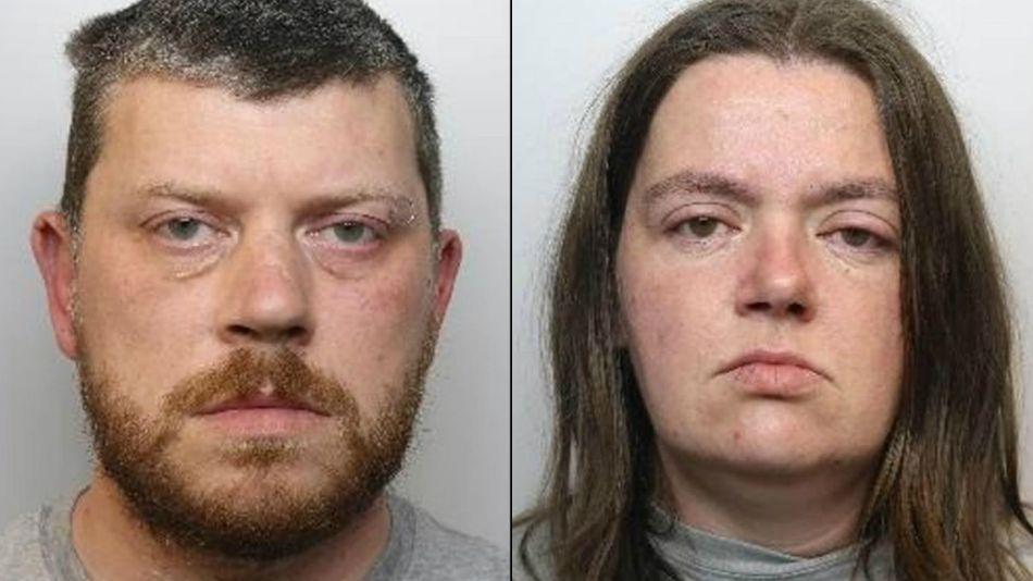 Sarah Barras y Barton Machin, condenados a cadena perpetua