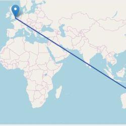 De Londres a Sidney hoy se tardan unas 20 horas promedio. Con el avión supersónico sólo se haría en 4.