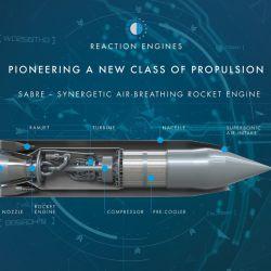 El prototipo del motor SABRE se presentó en la última Conferencia Espacial del Reino Unido.