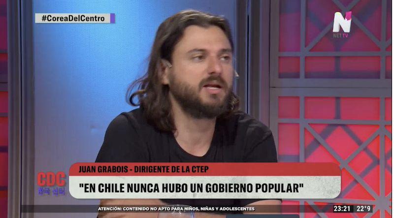 """Irónico elogio de Juan Grabois a Susana Giménez: """"Es la abanderada de la reforma agraria"""""""