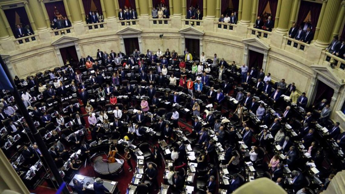 Congress meets for a special session about Bolivia