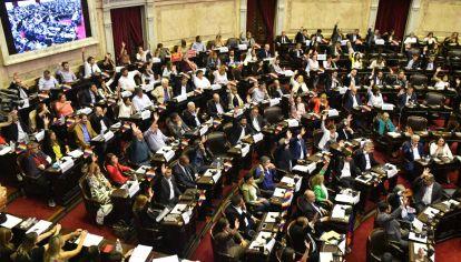 En la sesión de Diputados se debatió la situación en Bolivia.