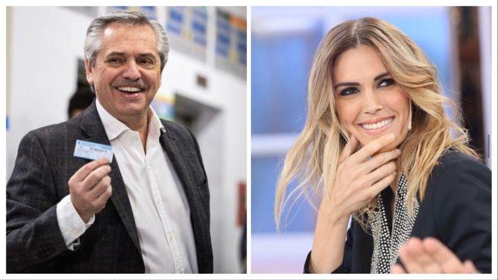 Alberto Fernández y Viviana Canosa, el supuesto romance del que habló Luis Ventura