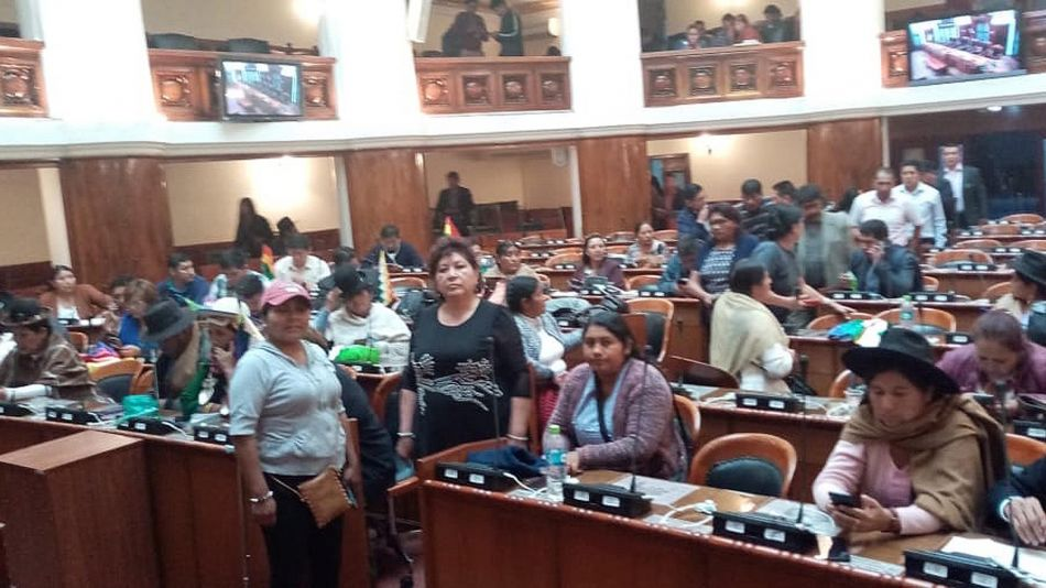 Parlamento Boliviano 20191113