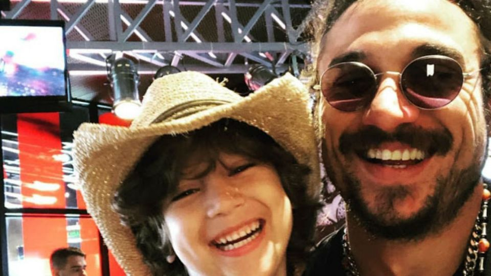 Daniel Osvaldo compartió una foto inédita de Momo