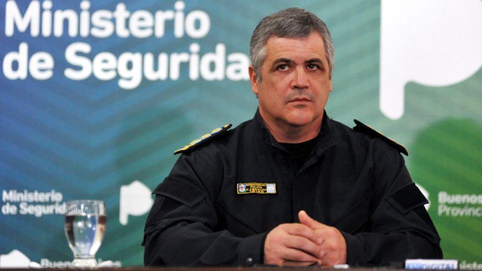 El jefe de la Policía de la provincia de Buenos Aires, Fabián Perroni.
