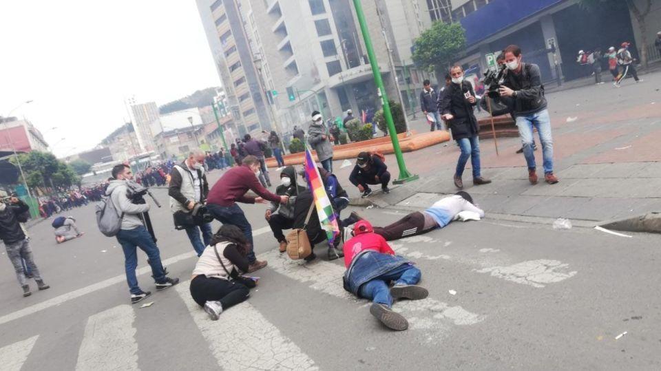 bolivia manifestantes 14112019