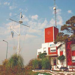 El destacamento de la Prefectura de Guazucito, en el Km 124,7 del Paraná Guazú.